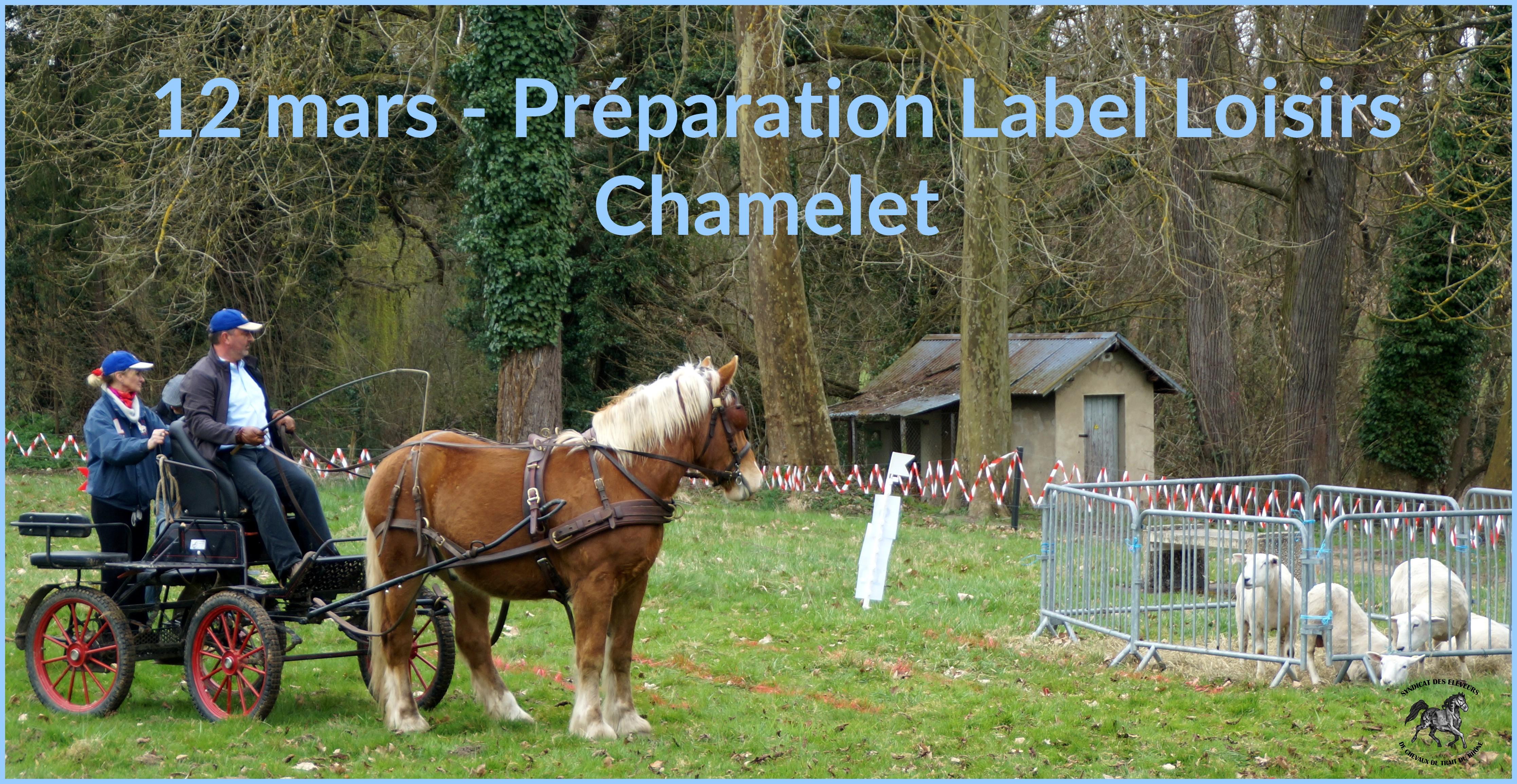 Prépa label loisirs 12 mars
